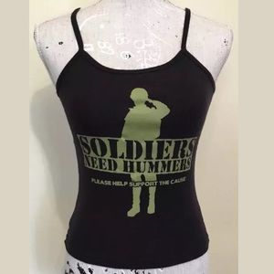 Soldiers Need Hummers Please Support... Tank Top